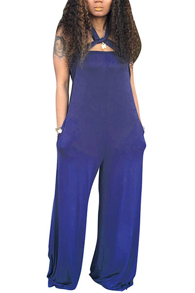 Strapless Loose Jumpsuit