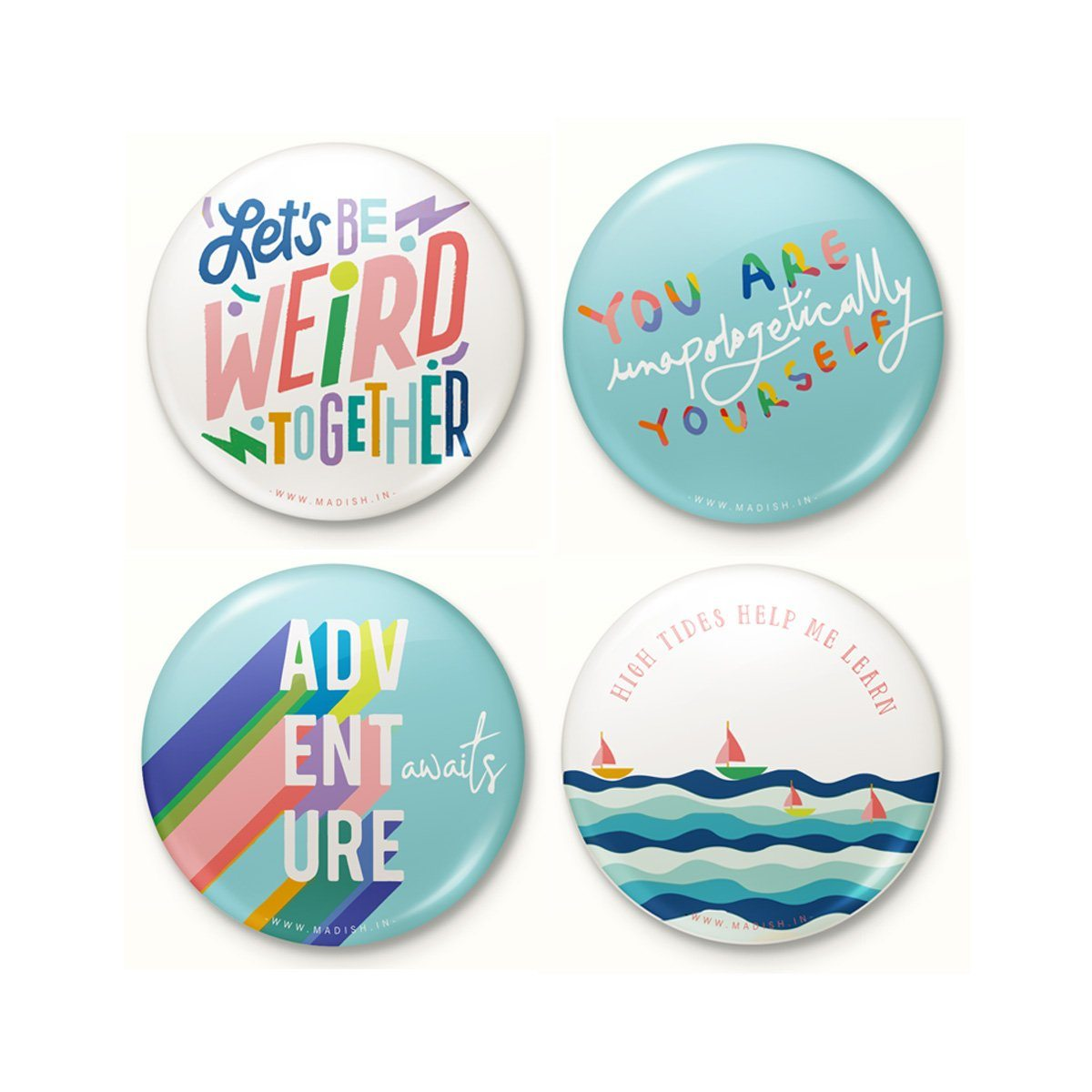 Unstoppable Badge Set by Madish