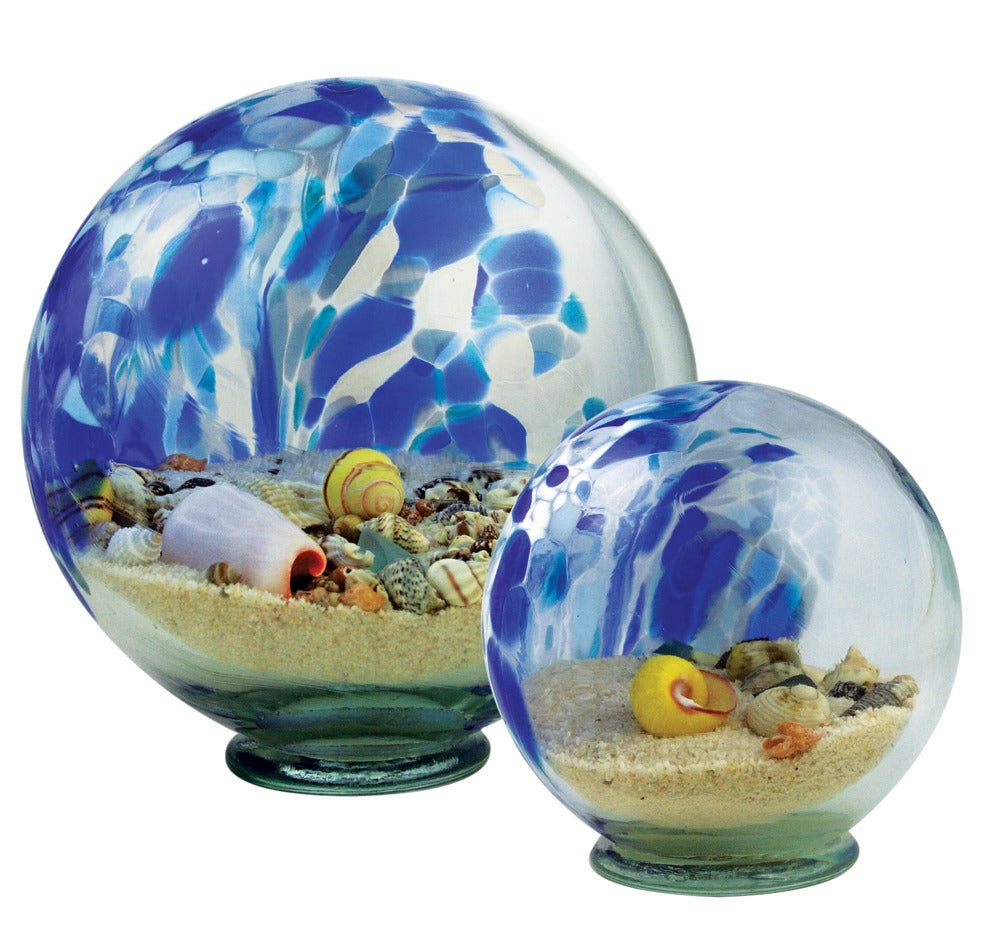 Blown Glass Sea Globes