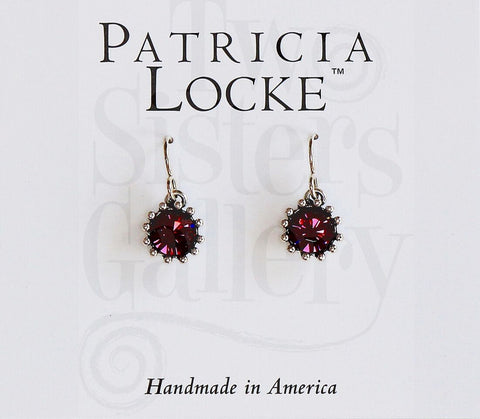 Cupcake Earrings Amethyst