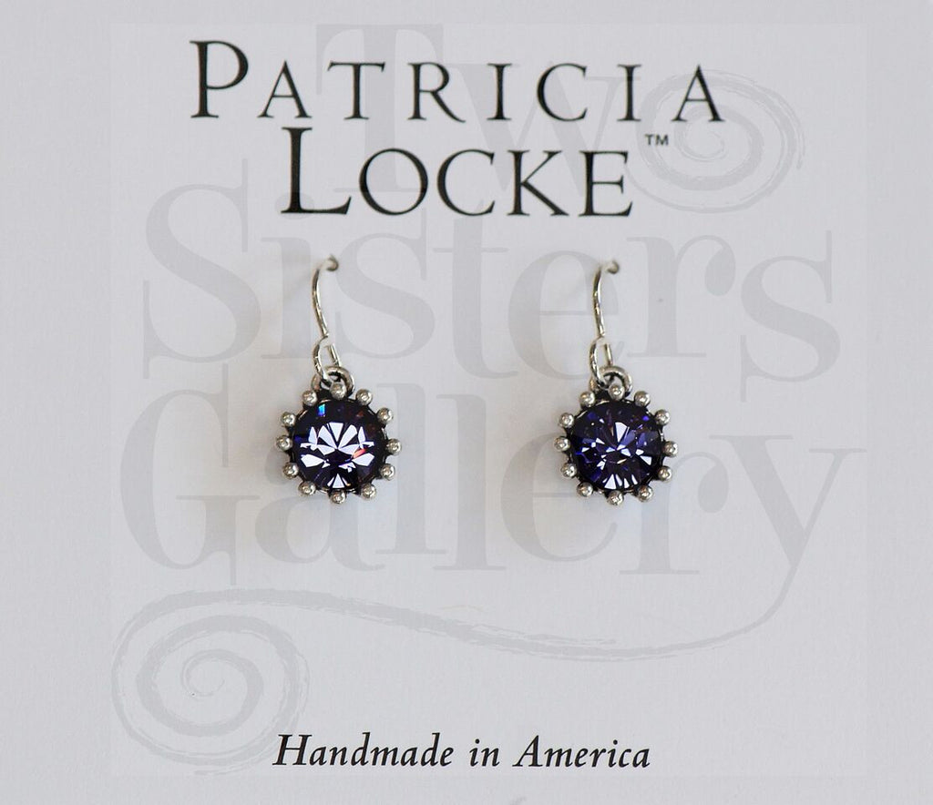 Cupcake Earrings Tanzanite