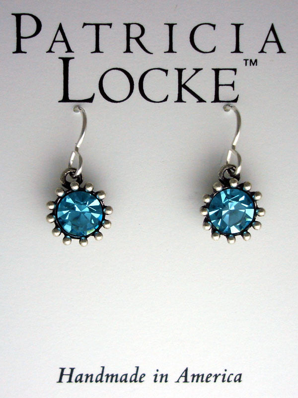 Cupcake Earrings Aquamarine