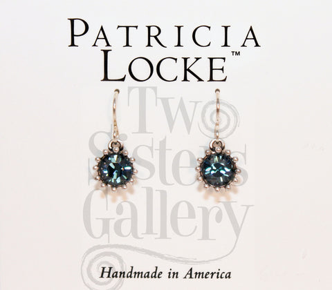 Cupcake Earrings Indicolite