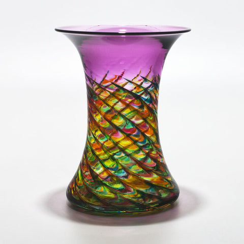 Optic Rib Cooling Tower Vase