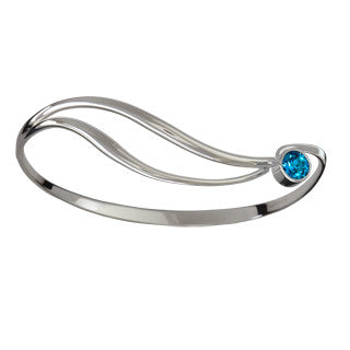 Shooting Star Blue Topaz Bracelet