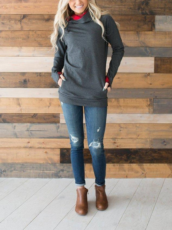 Spllove Sweatshirt - Buffalo Accent