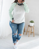 Baseball Spllove Sweatshirt - Mint
