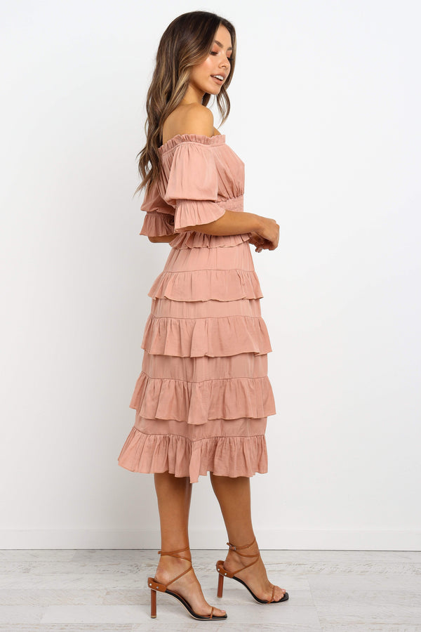 Ezana Skirt - Peach