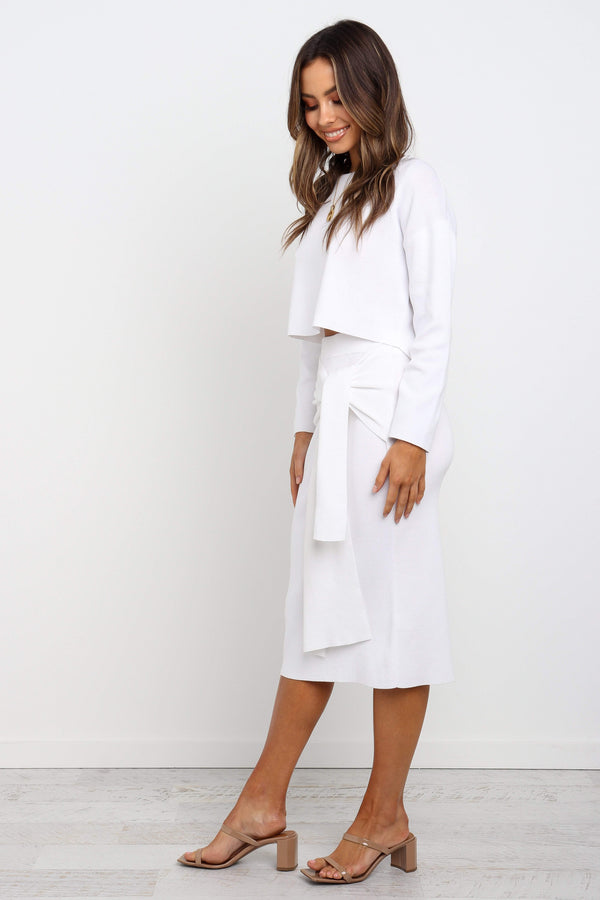 Dacey Skirt - White