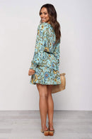 Elaia Dress - Blue