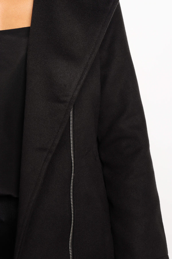 Lavanya Coat - Black