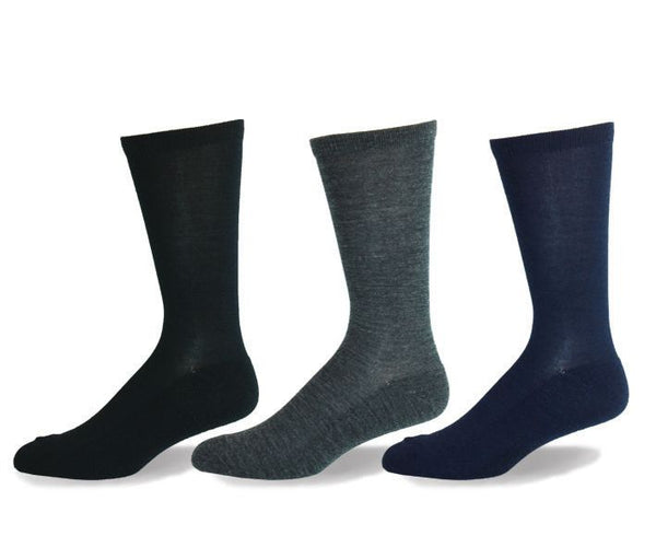 Mens Merino Wool Cushion Sole Socks