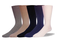 Non Elastic, Diabetic, Broad Rib, Cotton, Seamless Toe