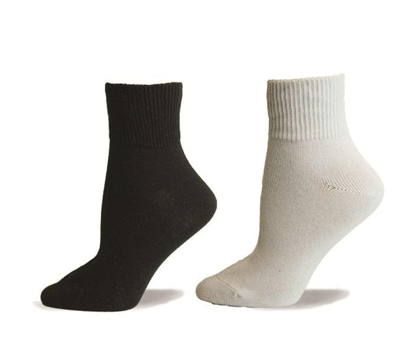 Non Elastic, Diabetic, Quarter, Cotton, Non Elastic, Seamless Toe