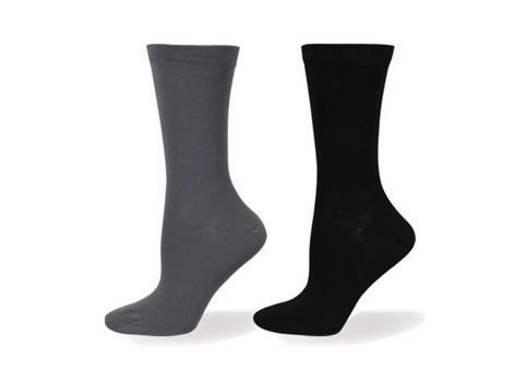 Ladies Wellness Bamboo Plain Sock