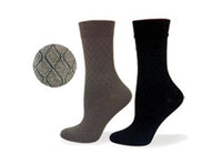 Non Elastic, Diabetic, Bamboo, Dress Sock, Seamless Toe