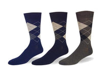 Classic Argyle, Cotton, Dress Sock