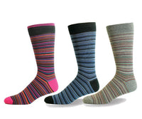 Mens Irregular Stripes Sock