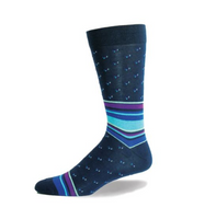 Mens Fashionable Pattern Sock