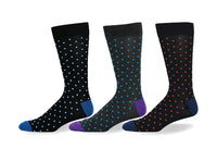 Mens Bamboo Mini Dot Sock