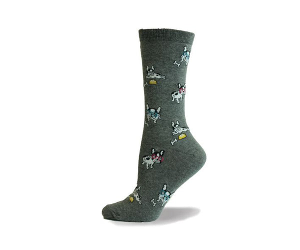 Ladies French Bulldog Sock