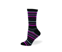 Pink Stripes, Cotton, Dress Sock