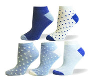 Dot, Heart, Stripe Assorted Ankle, Outdoor, Walking, Sport