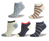 Ancor, Stripes, Dot Assorted Ankle, Outdoor, Walking, Sport