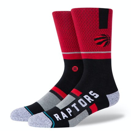 Mens NBA Raptors Shortcut Sock