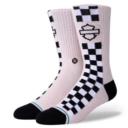 Mens Harley Side Check Sock