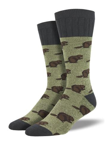 Mens Beaver Boot Sock