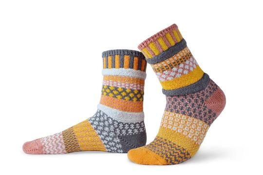 Unisex Buckwheat Recycled Cotton Sock