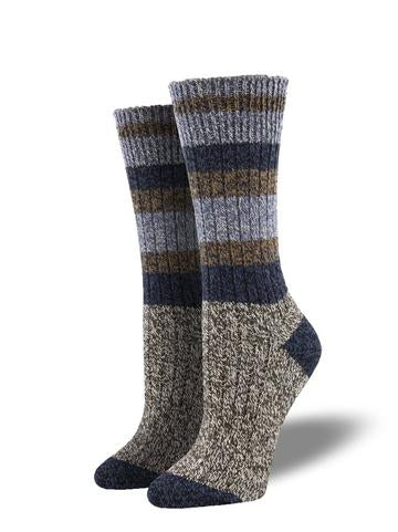 Unisex Yosemite Birch Cabin Sock