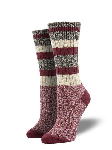 Unisex Yosemite Red Cabin Sock