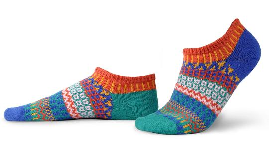 Unisex Cayenne Recycled Cotton Ankle Sock