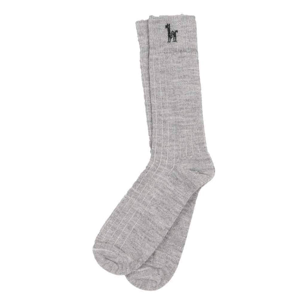 Unisex Everyday Alpaca Silver Sock