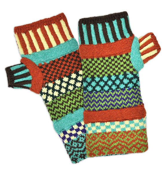 September Sun Fingerless Mittens