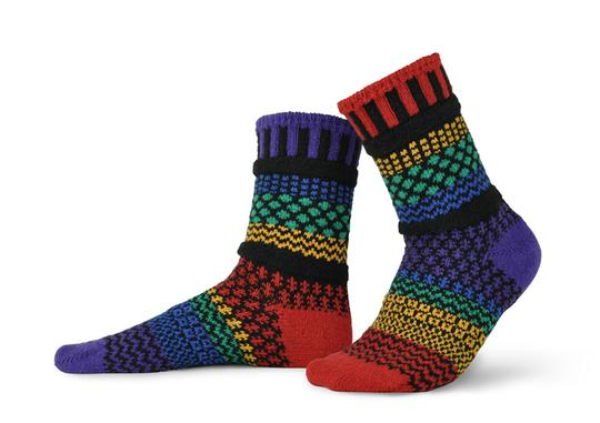 Unisex Gemstone Recycled Cotton Sock