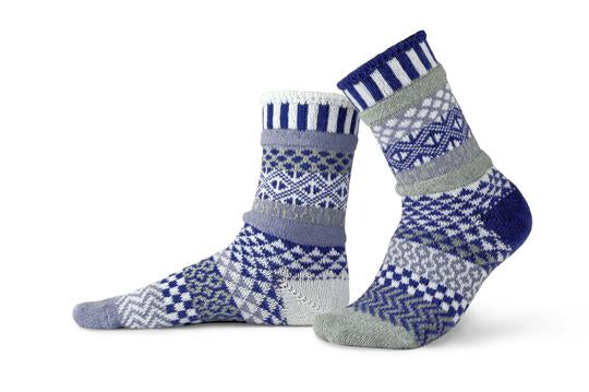 Unisex Glacier Recycled Cotton Sock