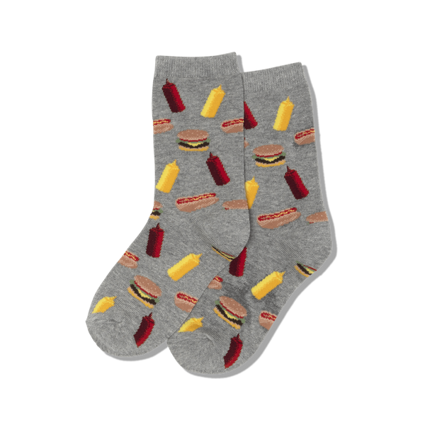 Kids BBQ Food Sock