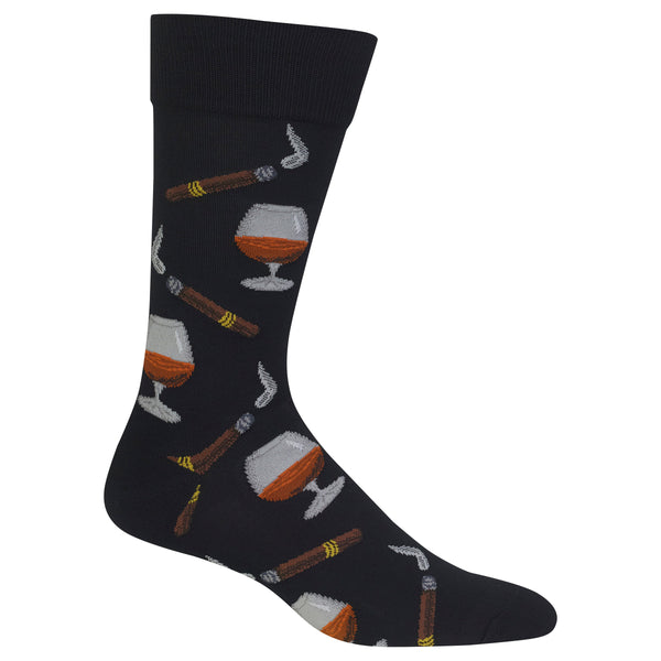 Mens Cognac Sock