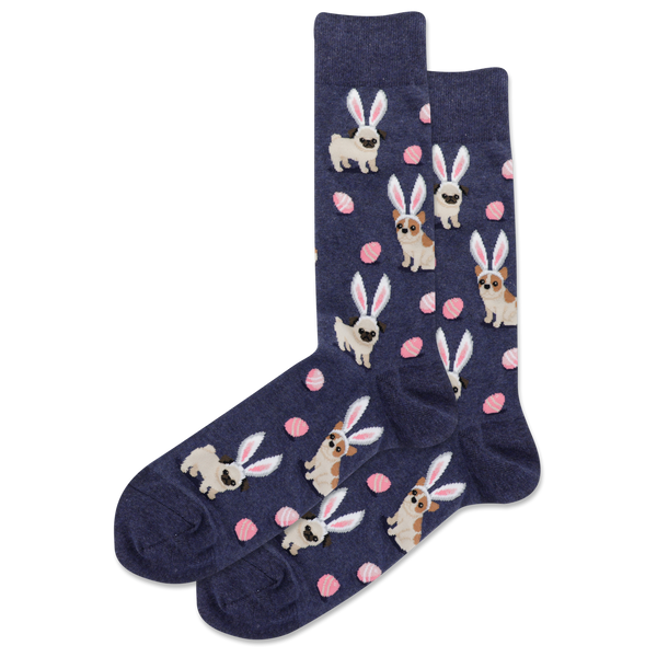 Mens Easter Dogs Sock