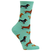 Ladies Dachshunds Sock