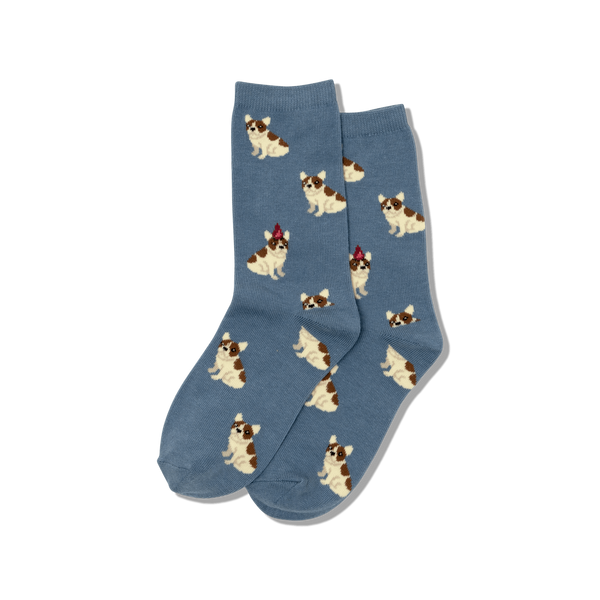 Kids Birthday Frenchie Sock