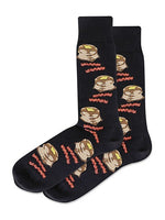 Mens Pancakes & Bacon Sock