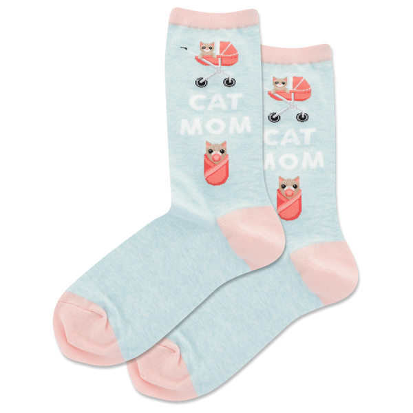 Ladies Cat Mom Sock