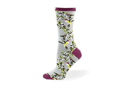 Ladies Hummingbird Sock