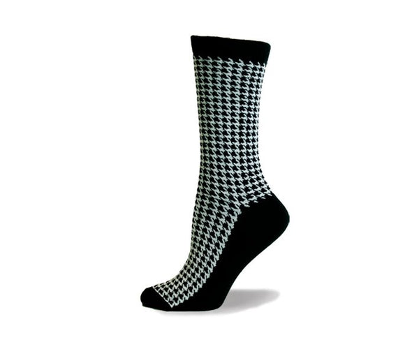 Ladies Houndstooth Sock
