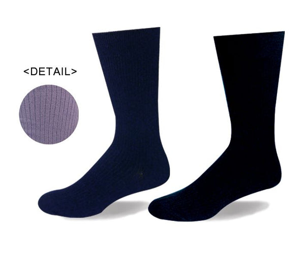 Mens Wellness Rib Sock