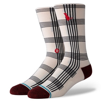 Mens Rat Plaid Stance Sock